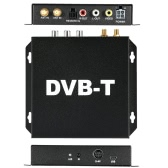 DVB-T Various Channel Mobile Car Digital TV Box Analog Mini TV Tuner High Speed 240km/h Strong Signal Receiver for Car Monitor