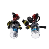 One Pair of 12V H4 35W HID Xenon Conversion Kit Car Head Lights Bulbs Low Beam HID & High Beam Halogen 4300K 6000K 8000K 10000K