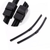 "2PCS 21""+20"" Windshield Wiper Blade Bracketless Rubber Arm Blade for VW Passat Saloon 2002-2005"