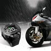 Steelmate DIY TP-90 TPMS for Motorcycle Tire Pressure Monitoring System with Waterproof External Sensor Wireless LCD Display