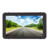 "7"" HD Touch Screen Portable Car GPS Navigation 128MB RAM 4GB Champagne Gold"