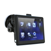 "7"" HD Touch Screen Multi-function Portable Car GPS Navigation 128MB RAM 4GB FM Video Play Car Navigator +Free Map"