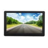 "7"" HD Touch Screen Portable Car GPS Navigation 128MB RAM 4GB FM Video Play Car Navigator +Free Map"
