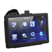 "7"" HD Touch Screen Portable Car GPS Navigation 128MB RAM 4GB FM Video Play Car Navigator with Bluetooth +Free Map"