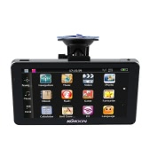 "KKmoon 7"" Portable HD Screen GPS Navigator 128MB RAM 4GB ROM MP3 FM Video Play Car Entertainment System with Handwriting Pen +Free Map"