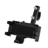 Motorcycle Large Screen Phone/GPS Navigator Holder Shock Resistant Motorbike/Bike/Scooter/ATV Stand Mount Bracket for Mobile Phone Interphone PDA