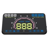 5.8inch Car HUD Head Up Display OBDII OBD KM/h & MPH Speeding Warning Windshield Projector System