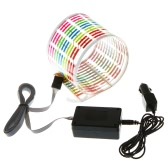 Car Sticker Music Rhythm LED Flash Light Lamp Sound Activated Equalizer