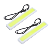 2Pcs 5W Super Bright LED Car Fog DRL Daytime Running Lights Waterproof Ultra-thin 36 Chips White