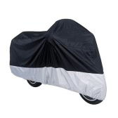 Motorcycle Bike Moped Scooter Cover Waterproof Rain UV Dust Prevention Dustproof Covering