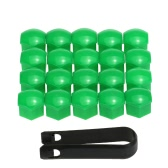 Set of 20pcs Universal 17mm Plastic Car Wheel Nut Covers Bolt Caps