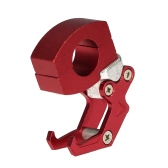 "7/8"" 22mm CNC Aluminum Motorcycle Handlebar Luggage Helmet Bag Hanger Hook Universal Holder"