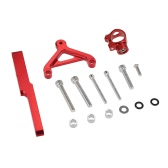 Motorcycle Steering Damper Stabilizer Mounting Bracket Kit for Honda CB1000R 2008-2016