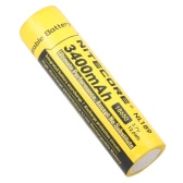 NITECORE 18650 Rechargeable Battery 3400mAh 3.7V High Capacity for LED Flashlight Torch Lamp Headlight Headlamp with PCB