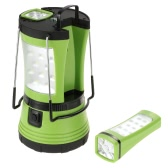 Lixada 10W 600LM LED Rechargeable Ultra Bright Camping Lantern 2 Detachable Flashlight Torch Water-resistant 360 Degree Portable Tent Light Basements Garages Camping Hiking Indoor Outdoor Use