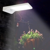 36 LED 450LM 3 Modes IP65 Water Resistant Solar Powered PIR Motion Sensor Induction Security Wall Lamp Outdoor Night Light for Garden Courtyard Pathway Patio