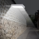 48LEDs 800LM 4Modes Super Bright Microwave Radar Motion Sensor Solar Light Street Outdoor Wall Path Lamp Security Spot Lighting