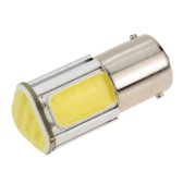 1156 G18 12V 3.6W 500LM 350MA COB LED Car Auto Light Source Turn Signal Rear Bulb Lamp White