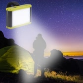 Lixada 3.6W 300LM 18LEDs Camping Lantern Light Brightness Adjustable Power Bank USB Rechargeable with Magnet Ultra Bright Portable Tent Work Emergency Light Camping Maintenance Use