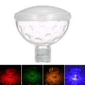 0.5W 4LEDs RGBY Underwater Floating Lamp IP67 Waterproof 5 Lighting Modes Battery-operated Pool Light Show Support Color Changing or Static Color for Aquarium Bath Decoration Party Swimming Pool Disco Spa Tub