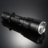 NiteCore MH27 XP-L HI(V3) 13 Modes 1000LM Longshot 462m USB Rechargeable Waterproof 2M with Red/Green/Blue Lights Multitask Tactical Outdoor LED Flashlight