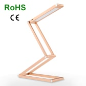 Tomshine Portable Foldable LED Desk Lamp 3W 105LM 2 Modes Small Creative Dimmable Rechargeable Multi-functional Table Light for Reading Studying Bedtime