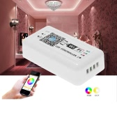 12V-24V LED RGB WiFi Controller for Strip Light  5050/3538 RGB LED Light / Bulb 3 Channels Smartphone for iOS/ for Android APP Control with Music/Timing Function