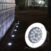 12V-24V 15W LED Outdoor Ground Garden Path Floor Stair Underground Buried Yard Lamp Spot Landscape Light IP67 Waterproof