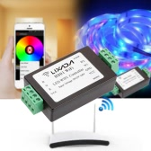5-24V WiFi APP Controlled Smart Dimmer Wireless Receiver Output 5 Routes PWM Data for RGBW LED Strip Light Lamp