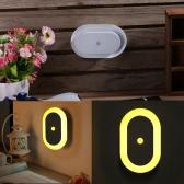PIR Sensor Light Sensor LED Night Light for Living Room Stairs Cabinet Display Hall Patios Use Warm White