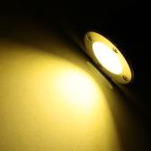 10W 85-265V AC IP67 COB LED Underground Light Lamp Waterproof High-power Tempered Glass Outdoor Garden Path Yard Landscape CE RoHs