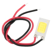 3W 12V DC LED COB Chip with Wire High Power High Bright Warm/Nature White Ice Blue