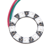 DIY RGB LED Ring Light 9*WS2811 5050 RGB LED 5V 1A with Integrated Driver