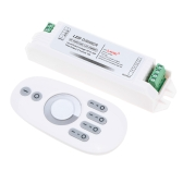 2.4G 2*6A Wireless 2 Channel RF Dimmer for Single Color LED Strip Light Bulb Downlight DC12-24V