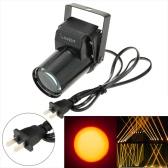 AC 90-240V 3W Mini LED Single Color Beam Pinspot Spotlight Effect Stage Light Lamp for Shop Bar Party Blind Corner