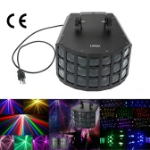Lixada 90W 2LED DMX512 Sound Activated Auto Running 7 Channels RGBW Color Changing Stage Beam Light Effect Lamp for Disco KTV Club Party