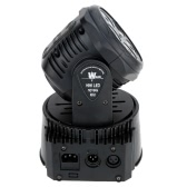 75W 5 LED DMX512 Sound Control Auto Rotating 10 / 15 Channels Colors Changing Moving Head Light RGBW Stage Wash Lamp
