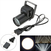 AC 90-240V 3W Mini LED Single Color Beam Pinspot Spotlight Effect Stage Light Lamp for Shop Bar Party Blind Corner