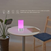Tomshine RGB 16 Million Colors Touch LED Atmosphere Bedside Night Light Dimmable Desk Table Lamp Phone App Control Smart BT Speaker Music Box
