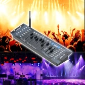 Tomshine 192 Channels Stage Light DMX512 Wireless Controller Console with Transmitter Party DJ Disco Operator Equipment