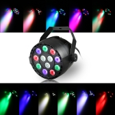 12 LED Par Stage Light 20W LED RGBW DMX 512 Dream Color Light for Club DJ Show Home Party Ballroom Bands RGBW/UV