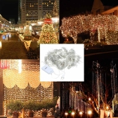 300 * 300cm AC 110V LED Curtain String Light 300PCS Fairy Romantic Decorative Christmas Wedding Party Backdrop Outdoor Indoor Use
