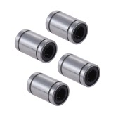 4pcs LM8UU 8mm Inside Dia Rubber Linear Ball Bearing Bushing for RepRap Prusa i3 Anet 3D Printer