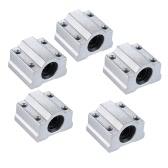 SCS8UU 8mm Linear Motion Ball Bearing Block CNC Router Slide Unit Reprap 3D Printer DIY Kit Parts Accessories