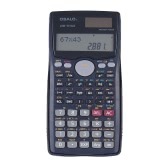 Scientific Calculator Counter 401 Functions Matrix Dot Vector Equation Calculate Solar and Battery Dual Powered 2 Line Display Business Office Middle High School Student SAT/AP Test Calculate