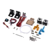 TEVO Dual Extruder Upgrade Full Kits Dual Extruder & 3010 Cooling Fan & 2 * Steps Motor for 3D Printer