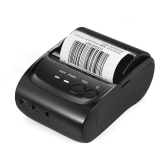 POS-5802DD Mini Portable Bluetooth USB Thermal Printer Receipt Ticket POS Printing for iOS Android Windows