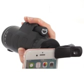 Universal Phone Photo Camera Lens 10 * 40 Telescope Monocular with Clip Low-light-level Night Vision for iPhone 6 6S Plus Samsung Smartphone
