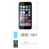 Phone Accessories Protective Back Case Screen Film Protector Phone Stand Card Slot Pin Earphone Dust plug for iPhone 6 Plus 6S Plus