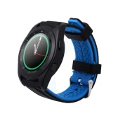 "NO.1 G6 Heart Rate Smart Watch 1.2"" Touch Screen MTK2502 Bluetooth 4.0 for iPhone 6 Plus 7S Plus Samsung S6 S6 edge HTC Android Smartphone Text Phone Book Call Reminder Pedometer Stylish Design Simple OS"